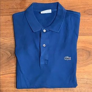 Lacoste for J. Crew polo shirt
